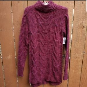 OLD NAVY knitted sweater turtle neck dress XS